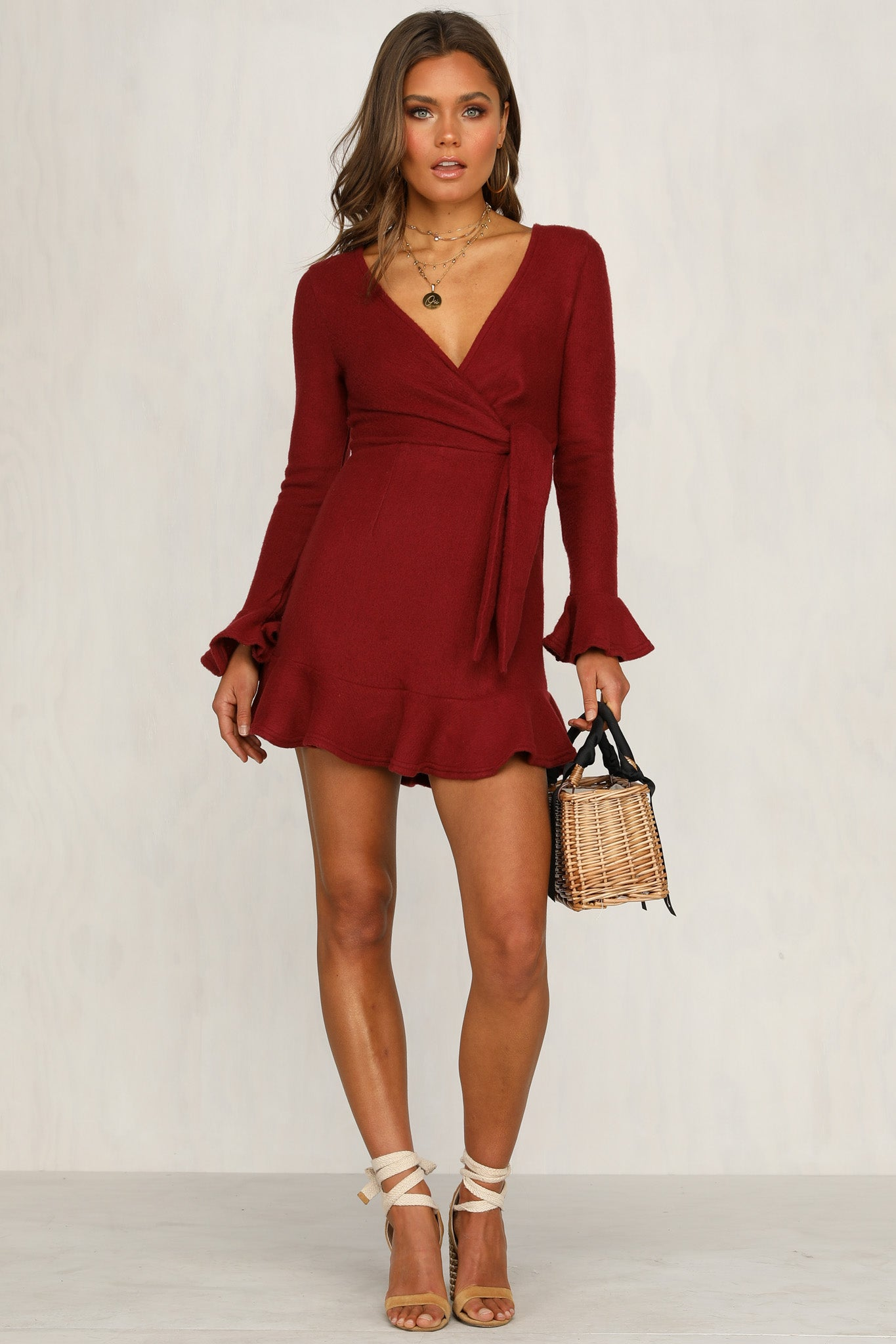 Vision In Light Dress (Wine)