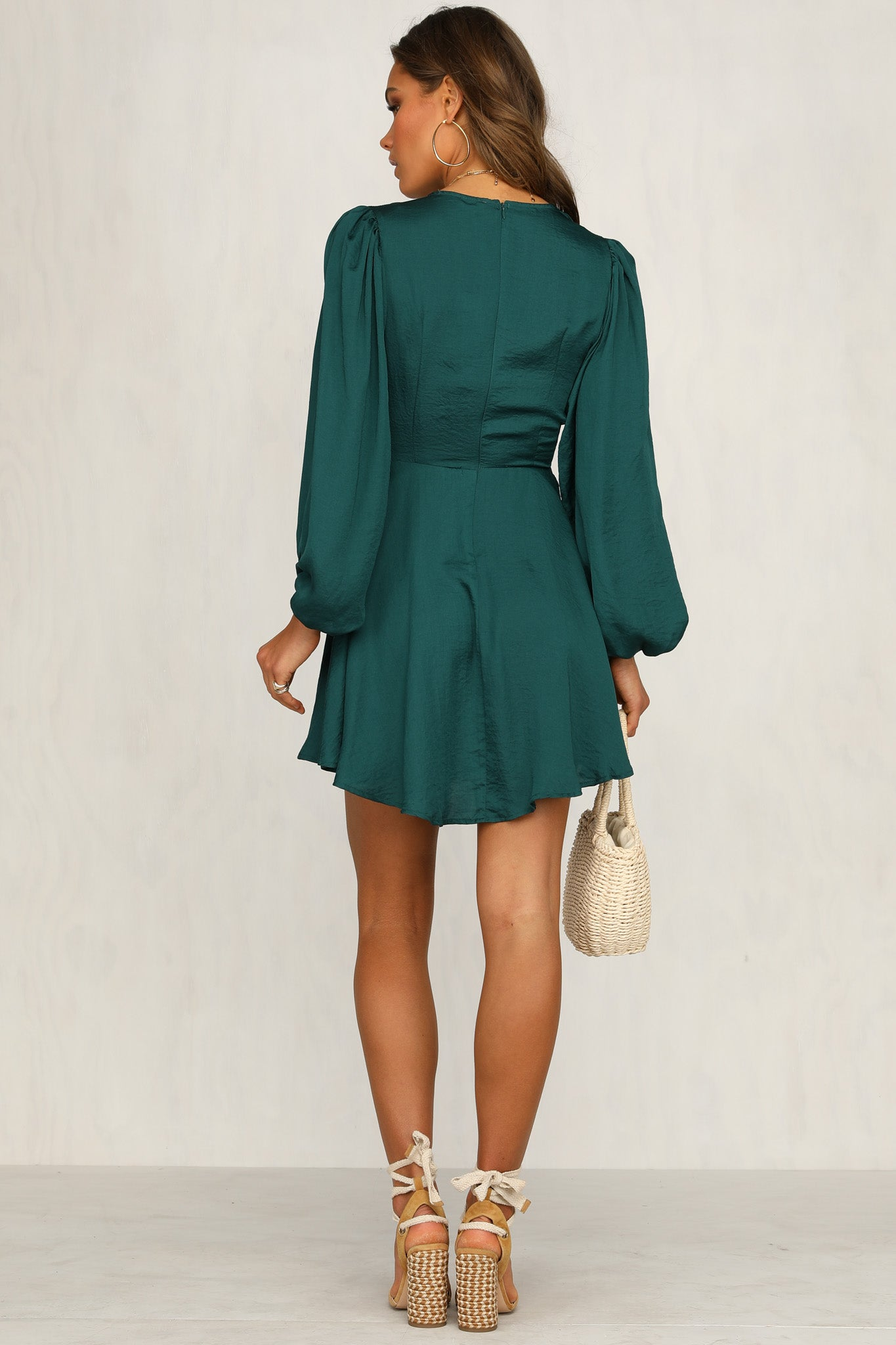 Good As It Gets Dress (Emerald)
