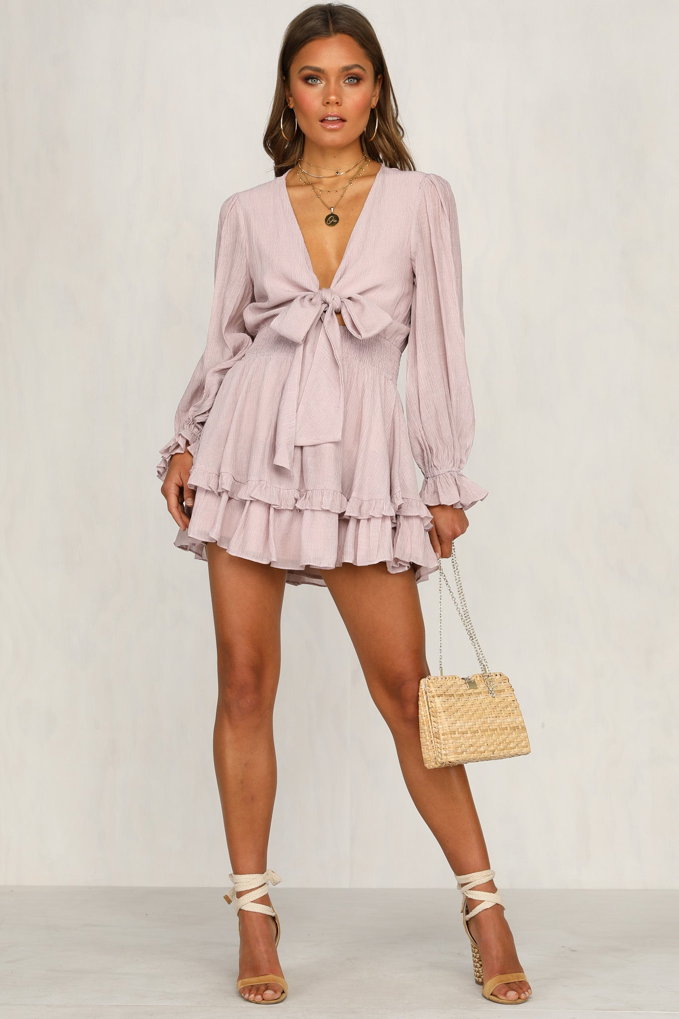 Dream Days Dress (Lilac)