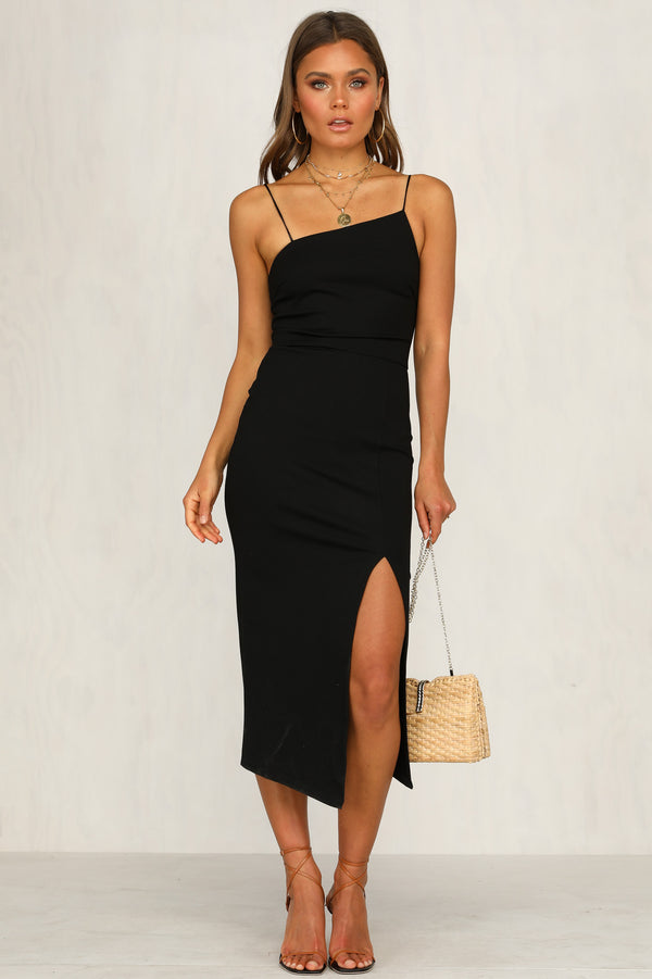 Bold Move Dress (Black)