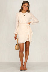 Francesca Dress (Beige)