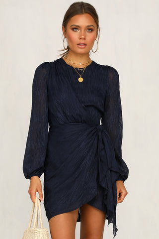 Francesca Dress (Navy)
