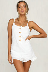 Make Me Yours Playsuit (White)