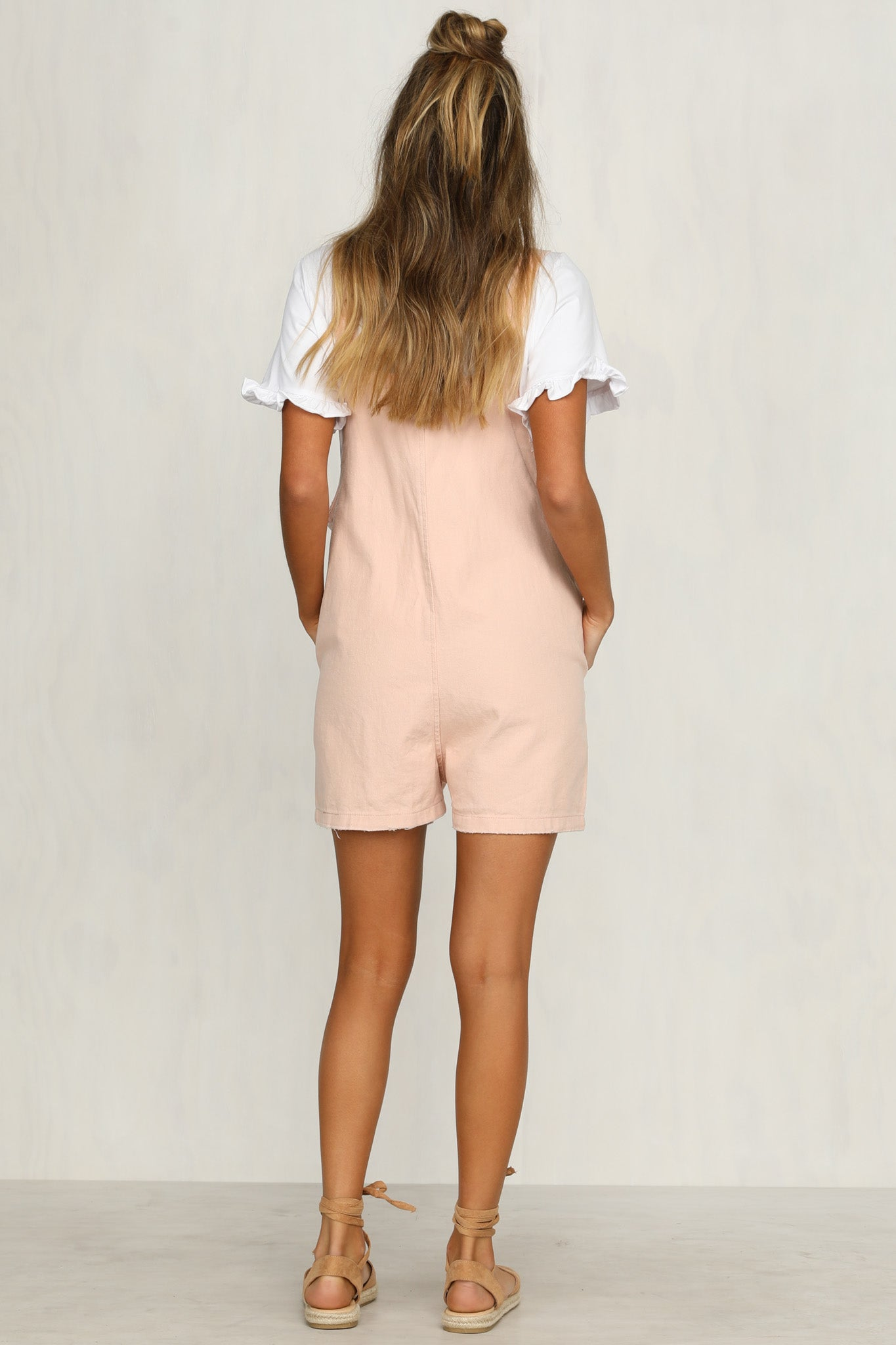 Venus Rising Playsuit (Pink)