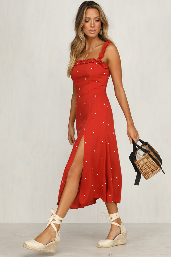 Girl Like You Dress (Red)