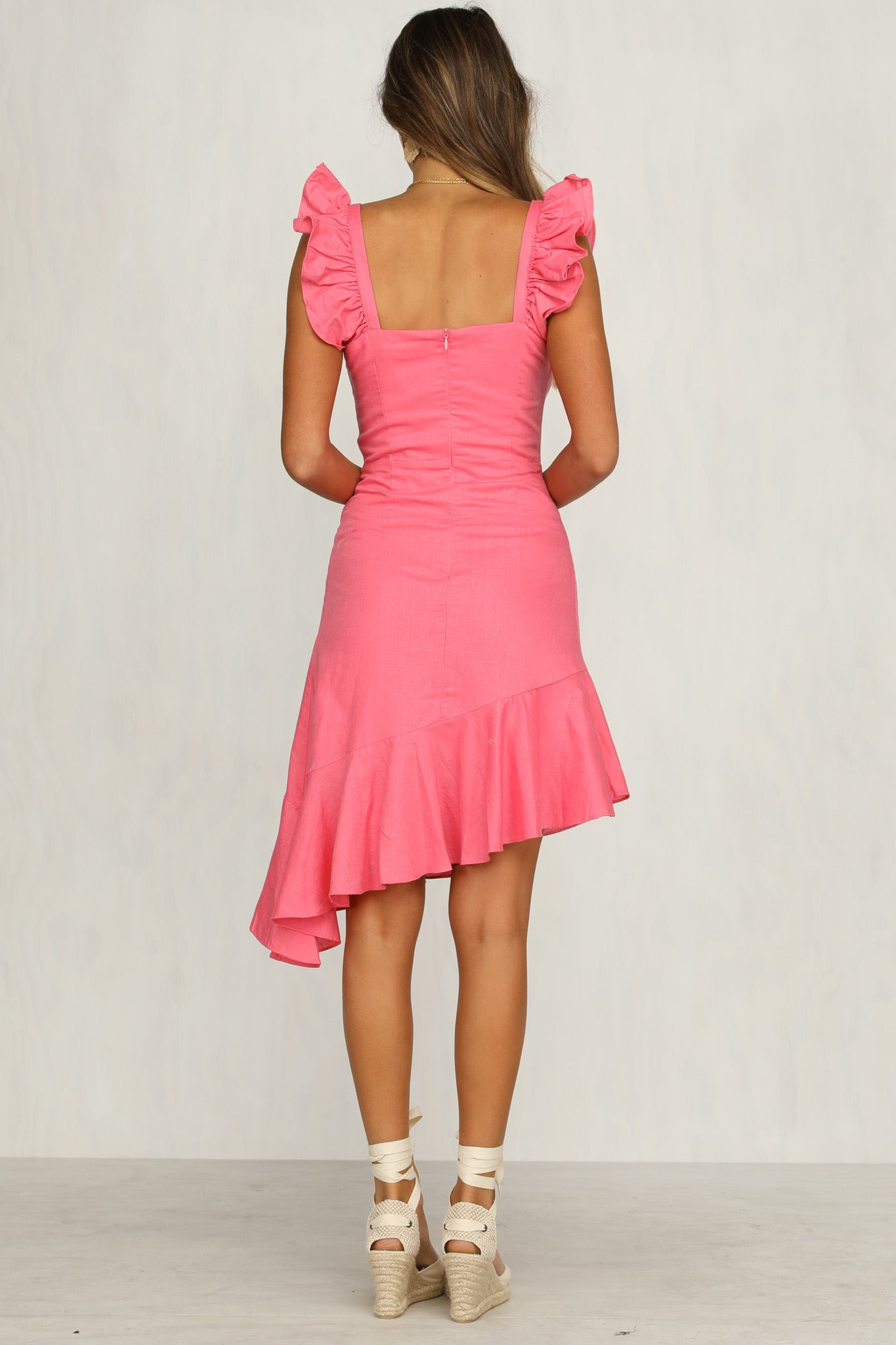 Rosalie Dress (Pink)