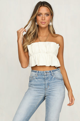Coyote Bodice Top (Ivory)