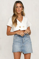 Gamine Top (White)