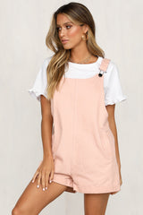 Take Care Playsuit (Pink)