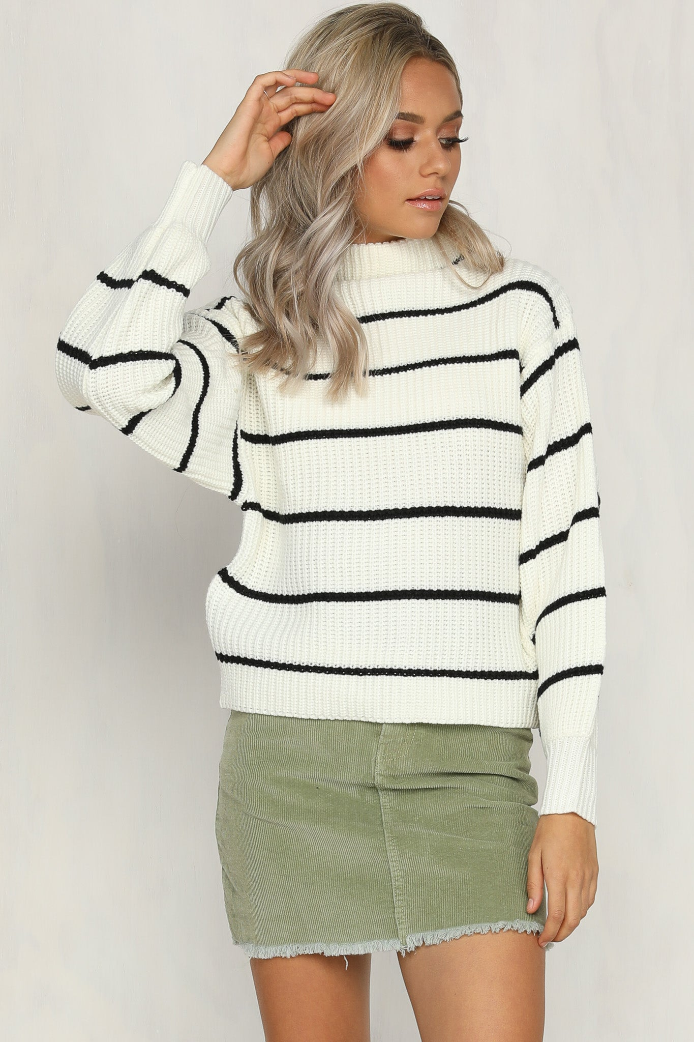 Walk On By Knit (Stripe)