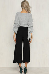Rory Knit Pants (Black)