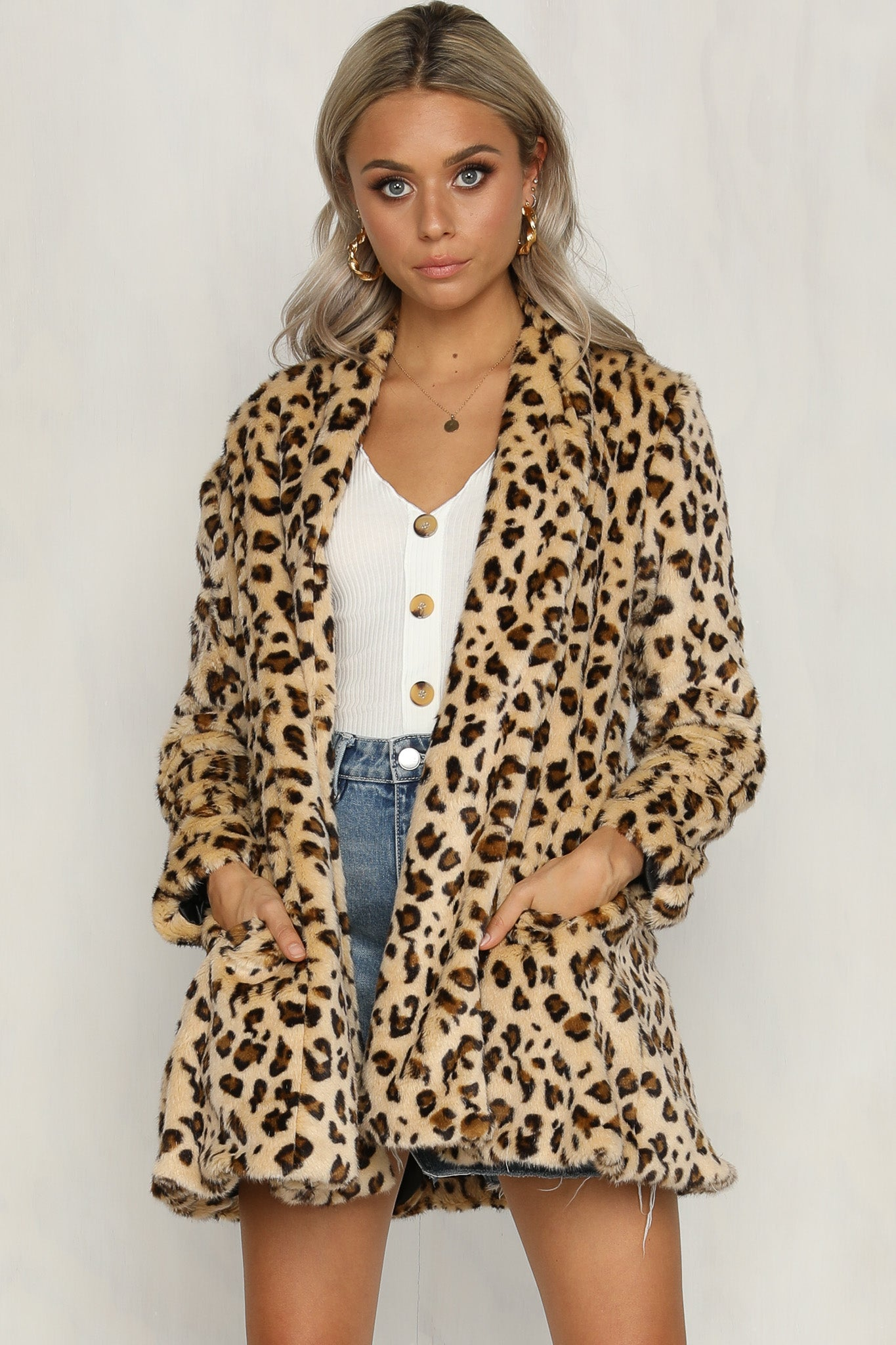 Aaliyah Faux Fur Coat