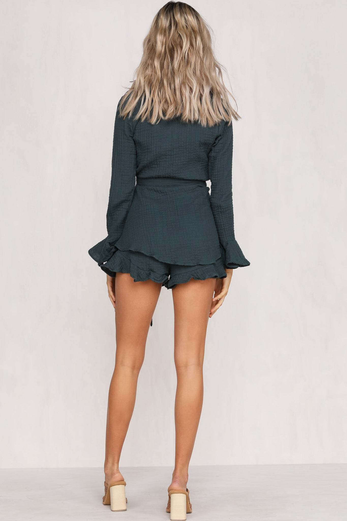 At Long Last Playsuit (Forest)