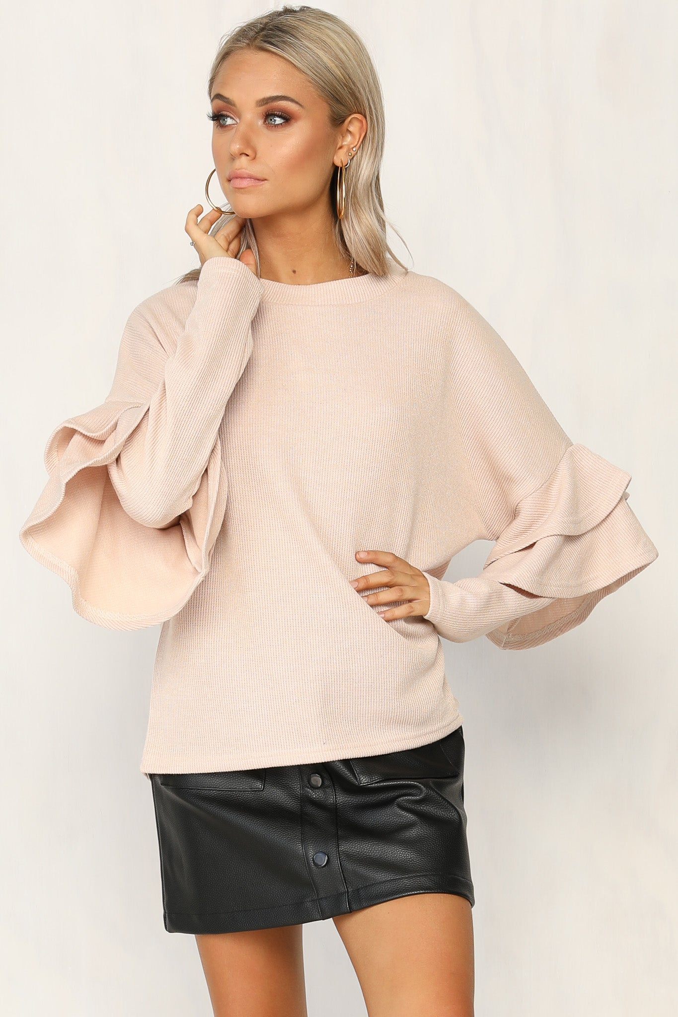 Never Mind Jumper (Beige)