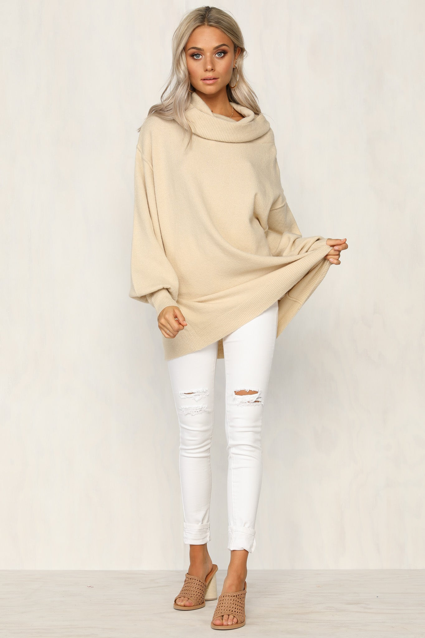 Wake Up Knit Sweater
