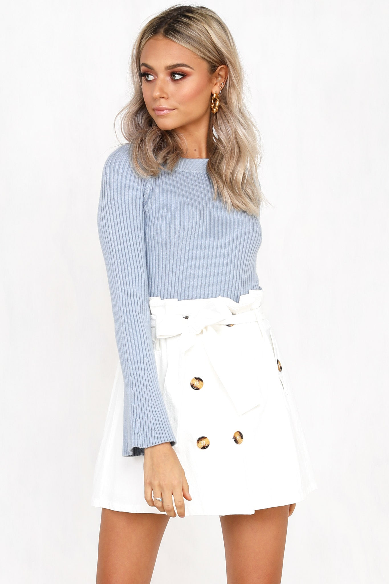 Harper Skirt (White)