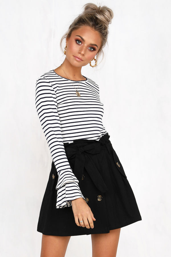 Harper Skirt (Black)