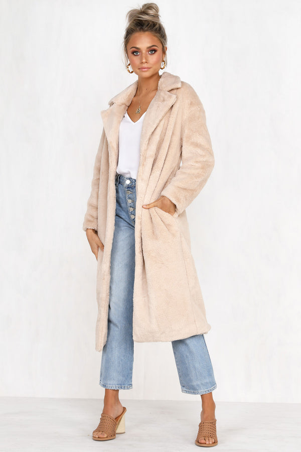 Just Another Lover Faux Fur Coat