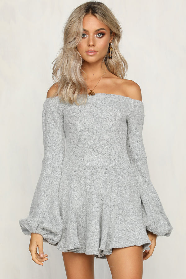 Really Me Dress (Grey)