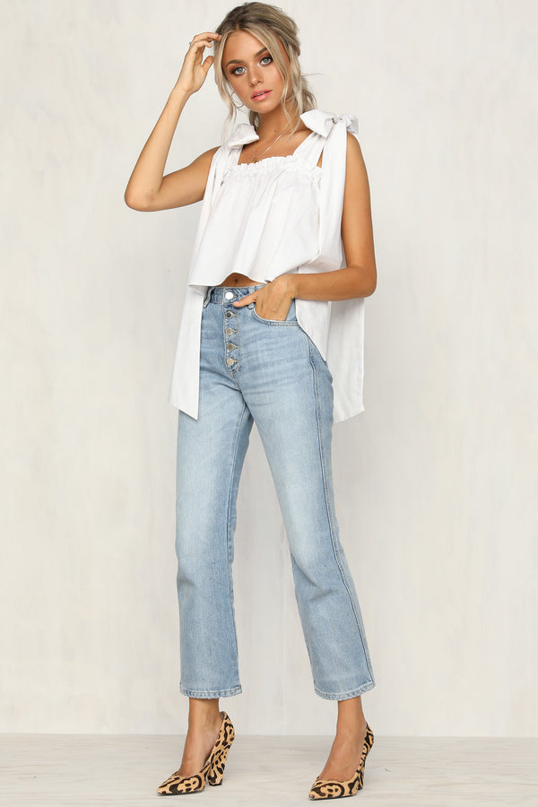 Lottie Top (White)
