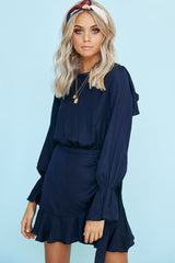Arabella Dress (Navy)