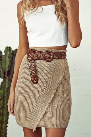 Wonderland Knit Skirt