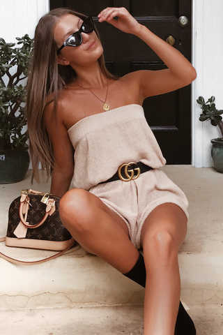 Calabasas Knit Playsuit
