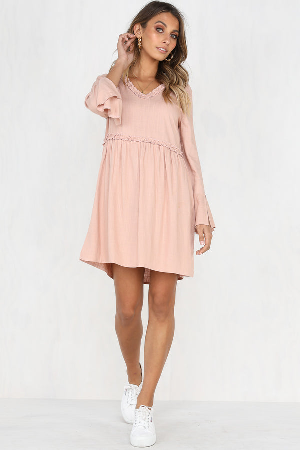 Lula Dress (Blush)
