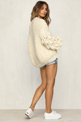 Night In London Knit (Cream)