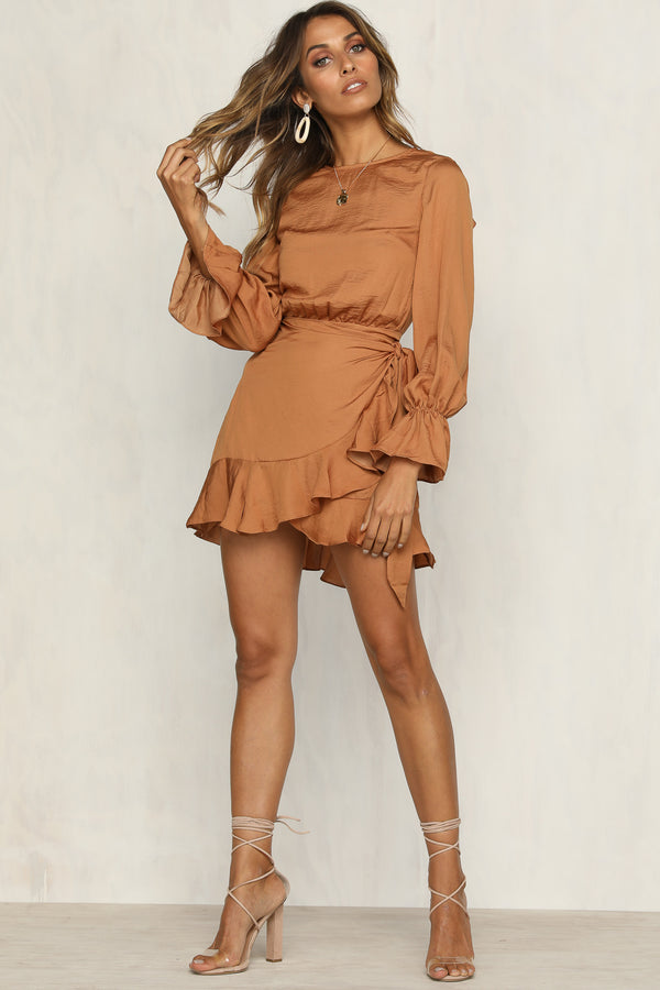 Arabella Dress (Tan)