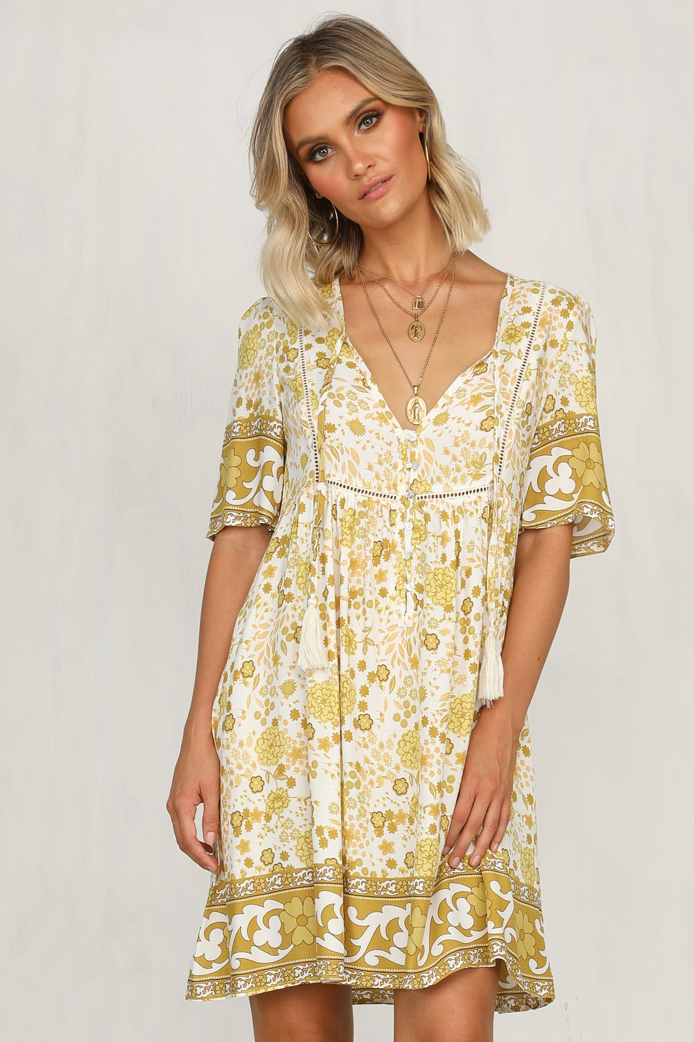 Sunnie Dress (Yellow)