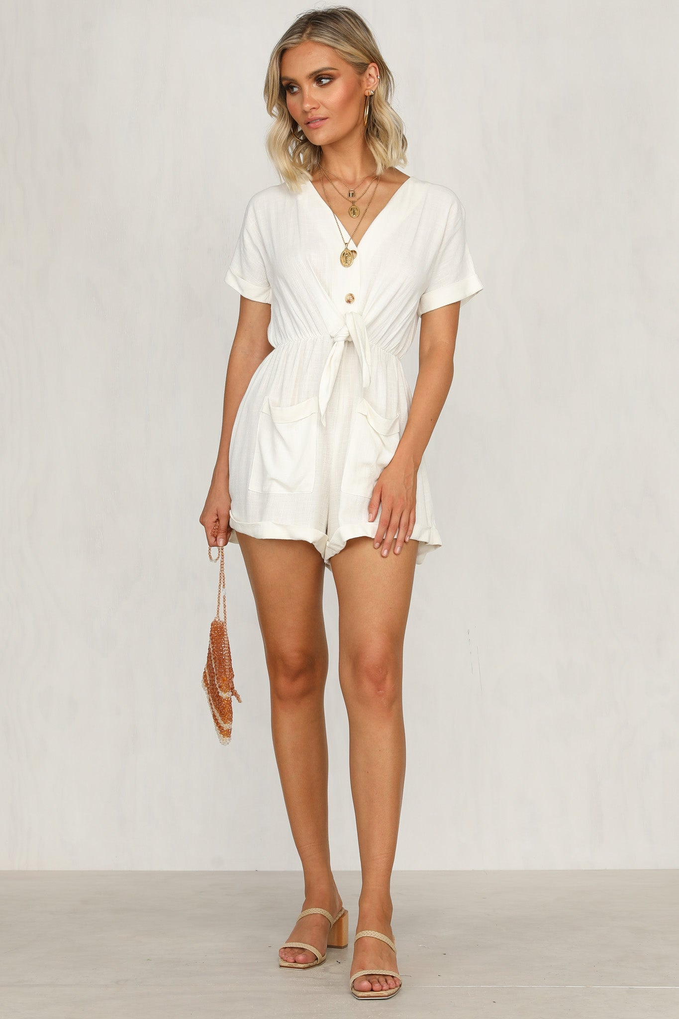 Opposites Attract Playsuit