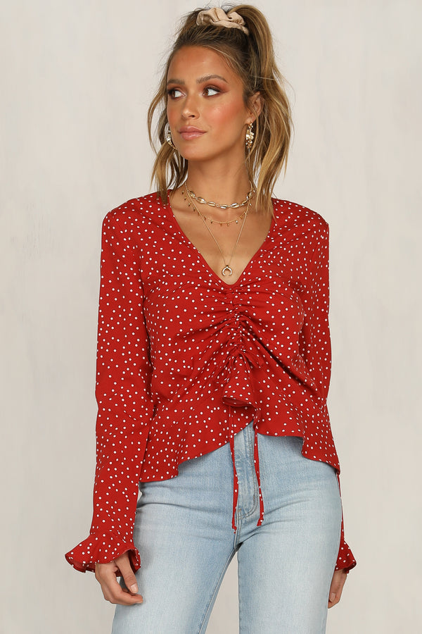 Used To Love You Top (Red)