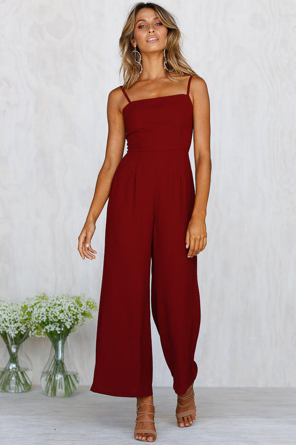 Switch It Up Jumpsuit (Burgundy)