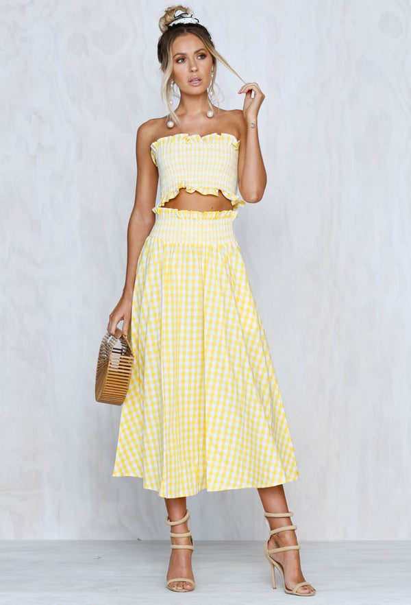 All Yours Gingham Set