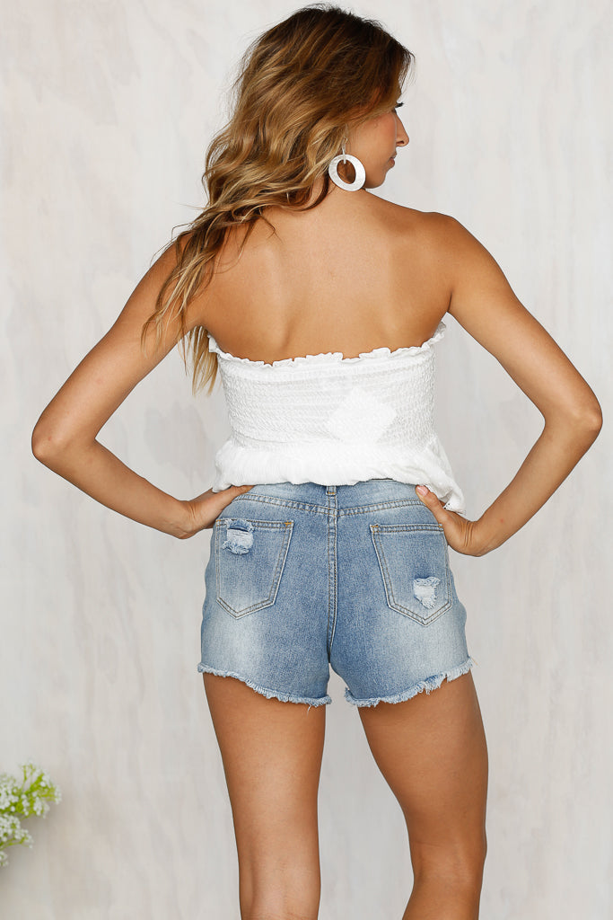 Day Trip Denim Shorts
