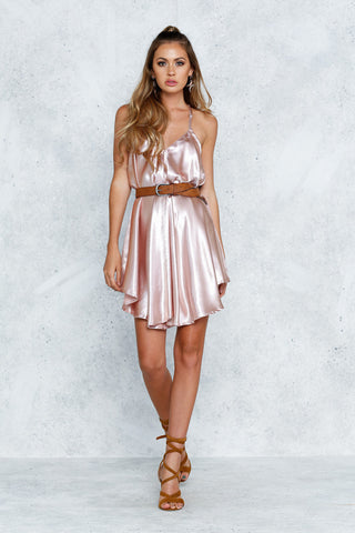 Still Wild Dress (Blush)