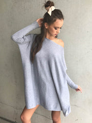 Bombay Knitted Top (Grey)