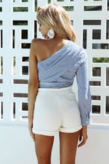 Limelight One-Shoulder Top