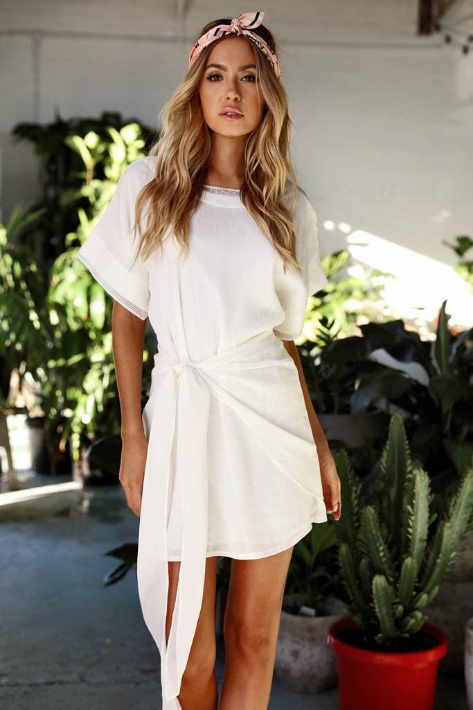 Dive In Dress (White)
