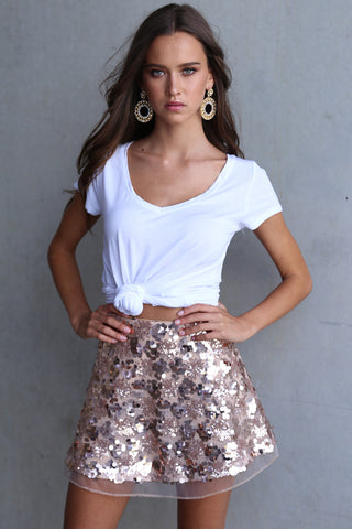 Lovestoned Sequin Skirt