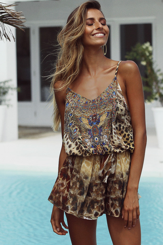 Beyond The Valley Playsuit
