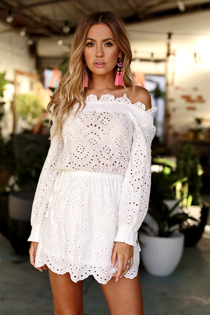 Wilderness Dress (White)