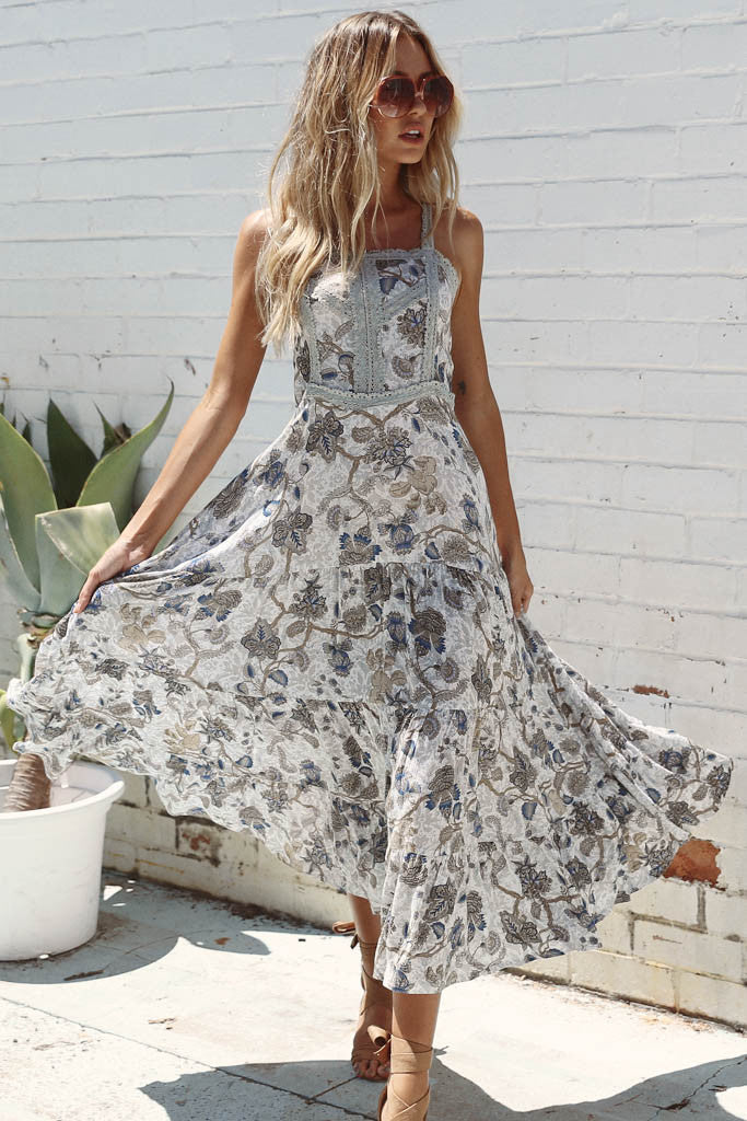 Faded Blooms Dress