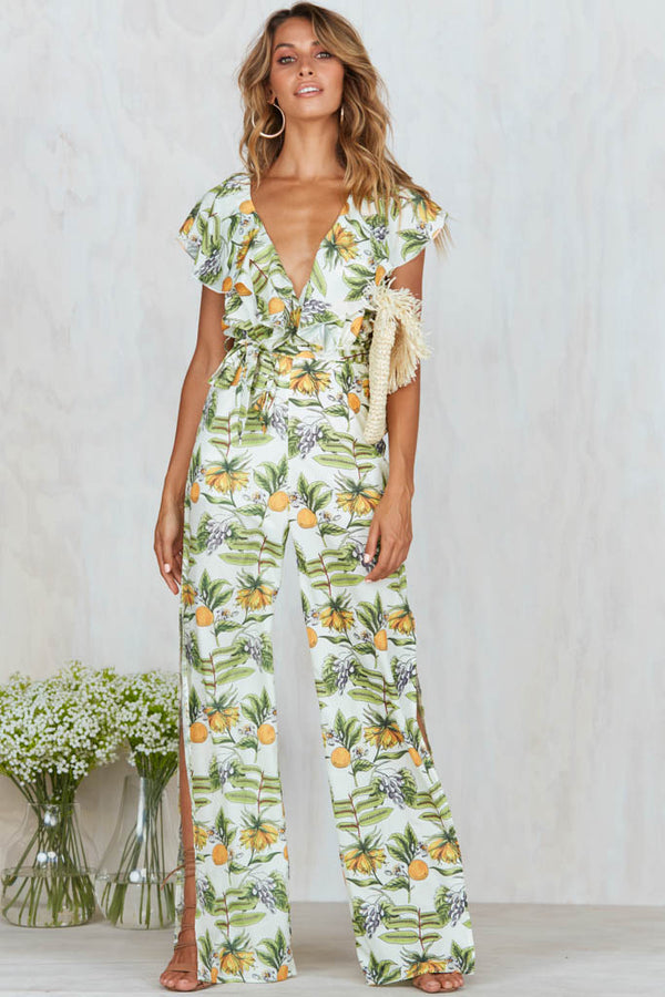Mandarin Tree Jumpsuit