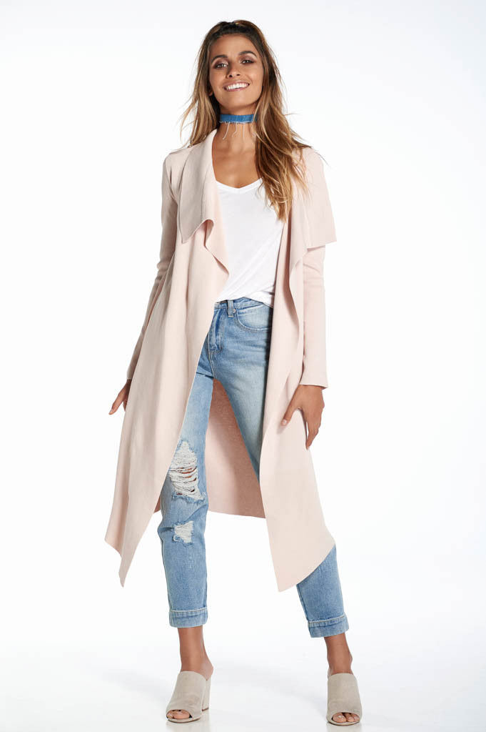 Winter Wonderland Cardigan (Blush)