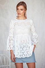 Daisy Chain Top (White)