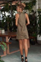 Way Back Suede Dress