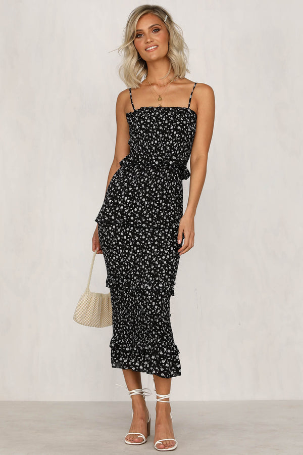 Heat Of The Moment Dress (Black)