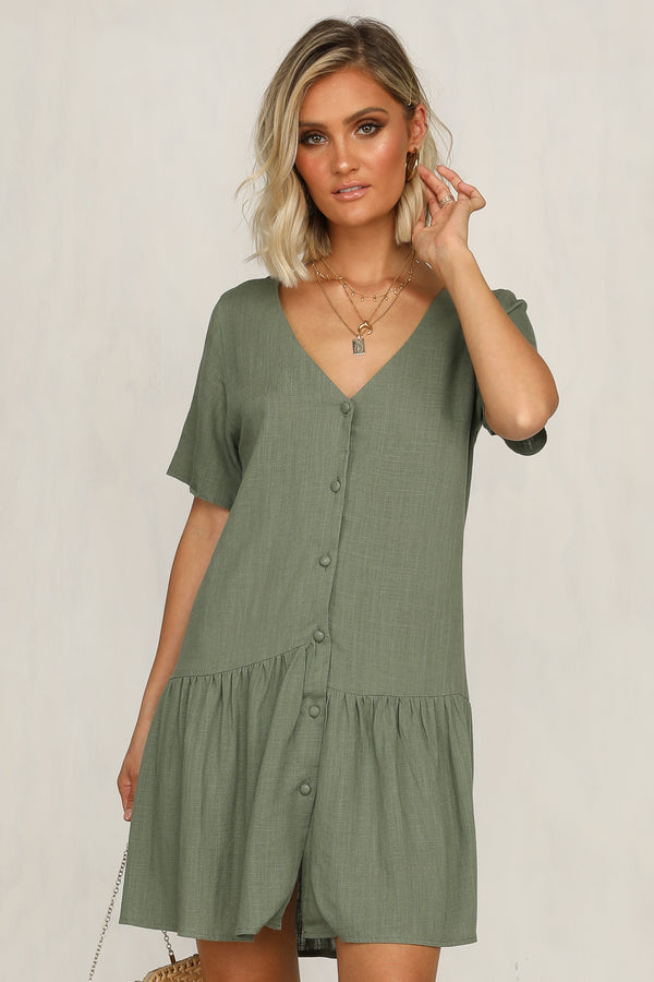 The Dreamers Dress (Khaki)